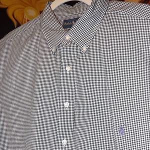 Men's Ralph Lauren Size XLT long sleeve Shirt